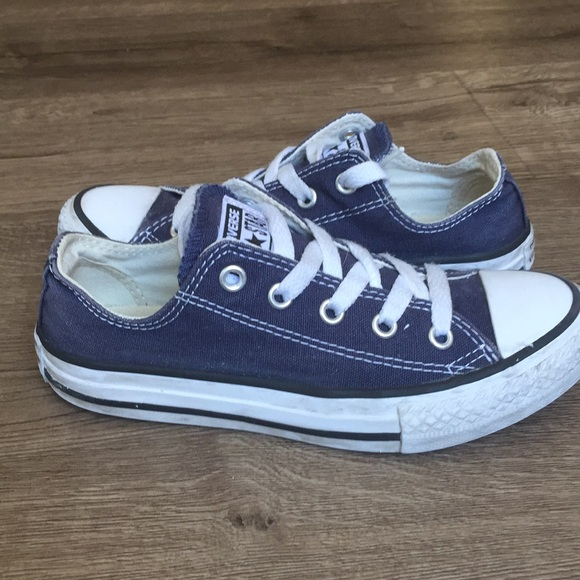 5f43fc0c89ed11 Converse Other - Converse all-star dark blue kids sneakers